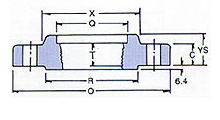 ansi flanges screwed spec